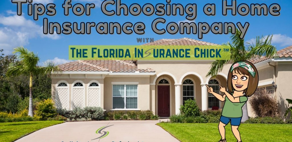 4 Tips for Choosing a Home Insurance Company